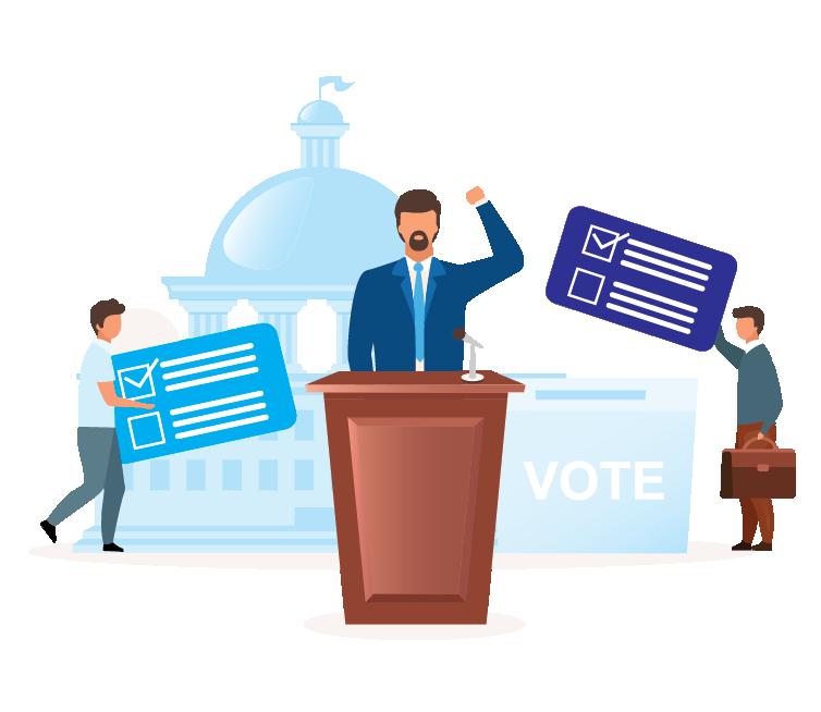 political Campaign services - Just Digitiz